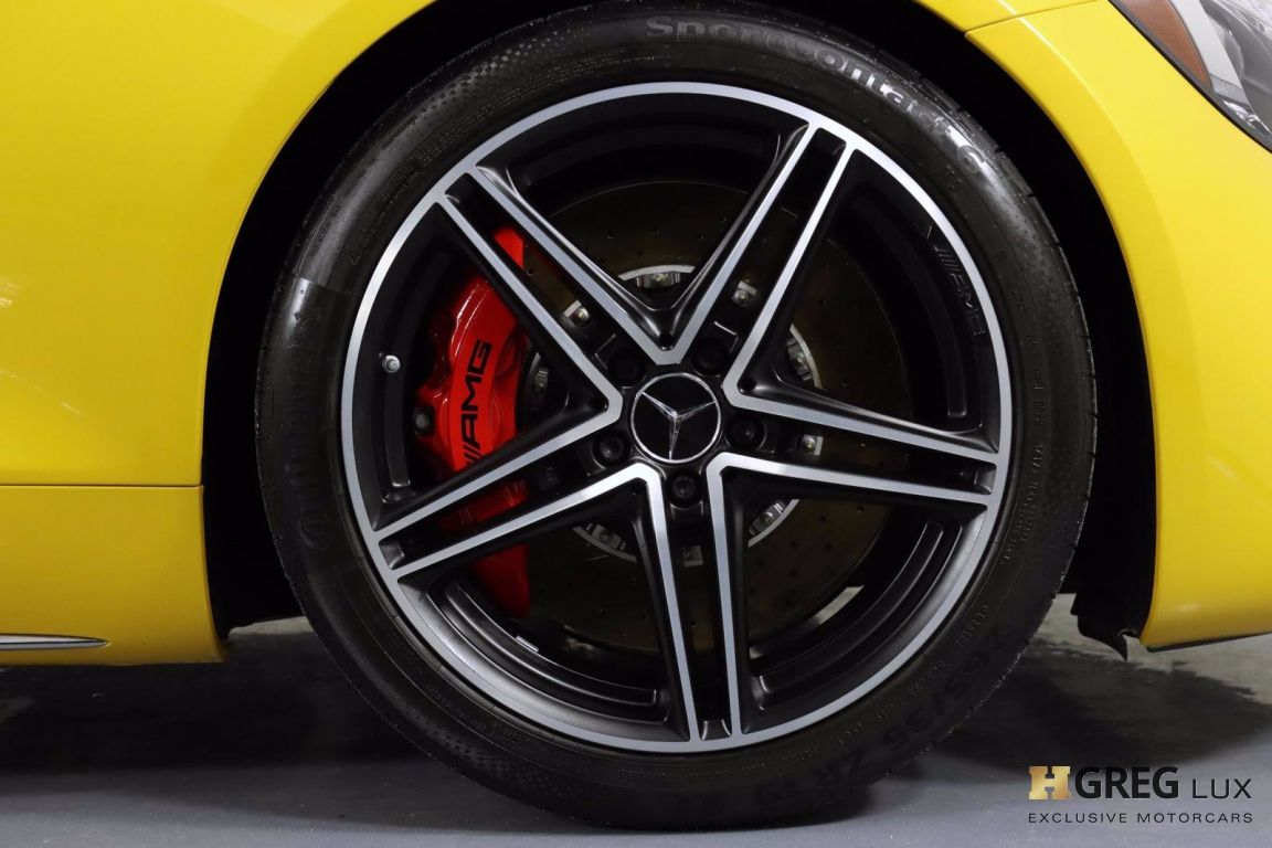 2018 Mercedes Benz AMG GT AMG GT C #12