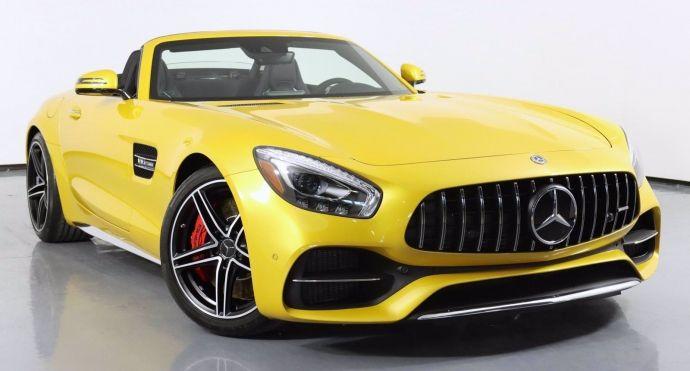 2018 Mercedes Benz AMG GT AMG GT C #0