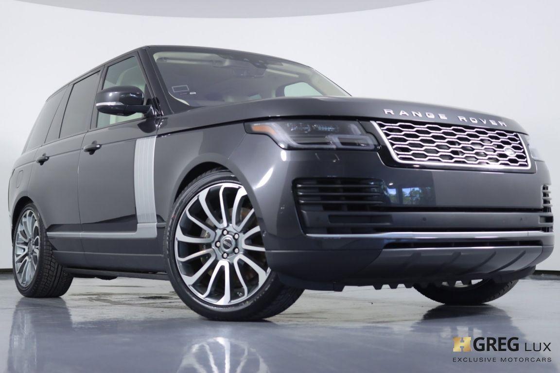 2018 Land Rover Range Rover HSE #28
