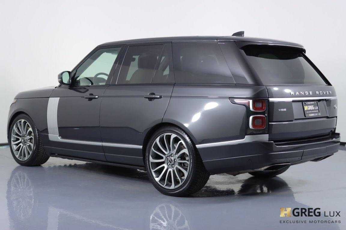 2018 Land Rover Range Rover HSE #21