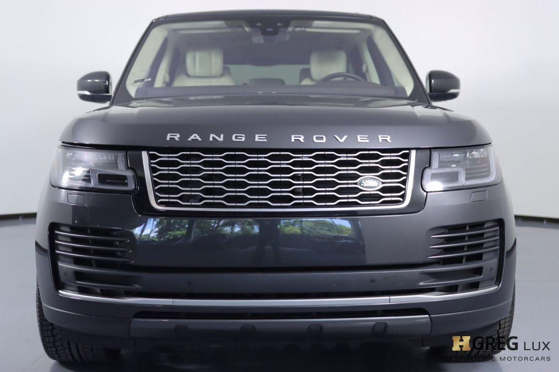 2018 Land Rover Range Rover HSE #3