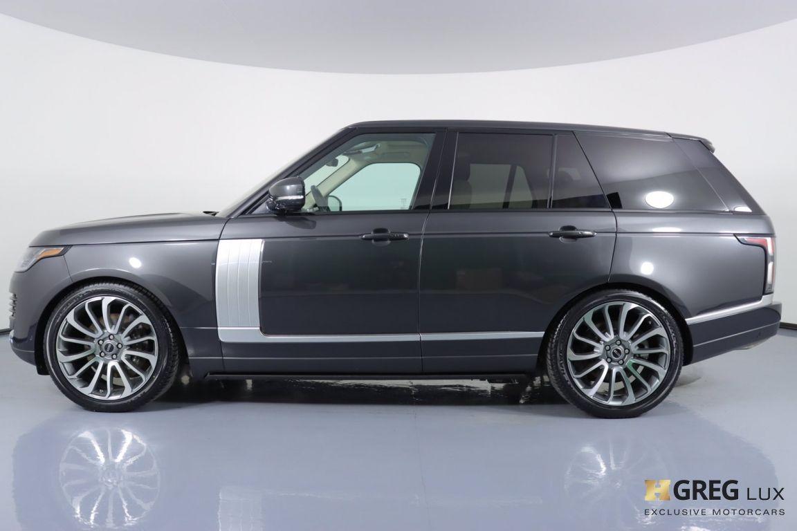 2018 Land Rover Range Rover HSE #22