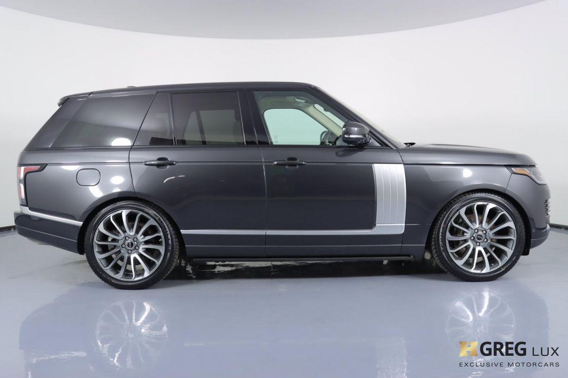 2018 Land Rover Range Rover HSE #10