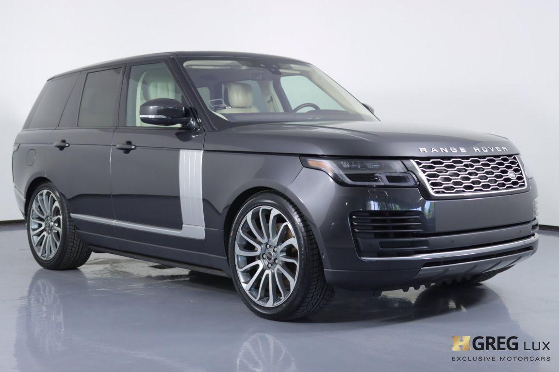 2018 Land Rover Range Rover HSE #9