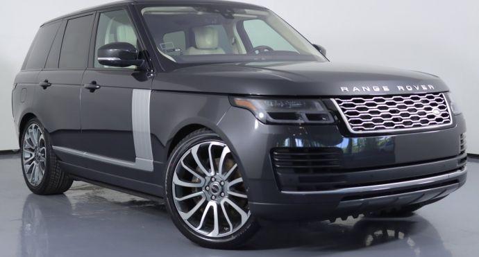 2018 Land Rover Range Rover HSE #0