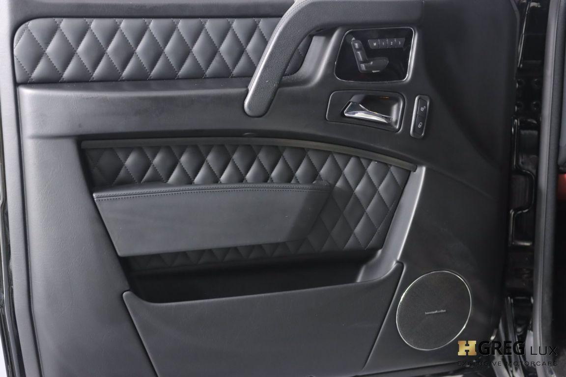 2016 Mercedes Benz G Class AMG G 63 #36