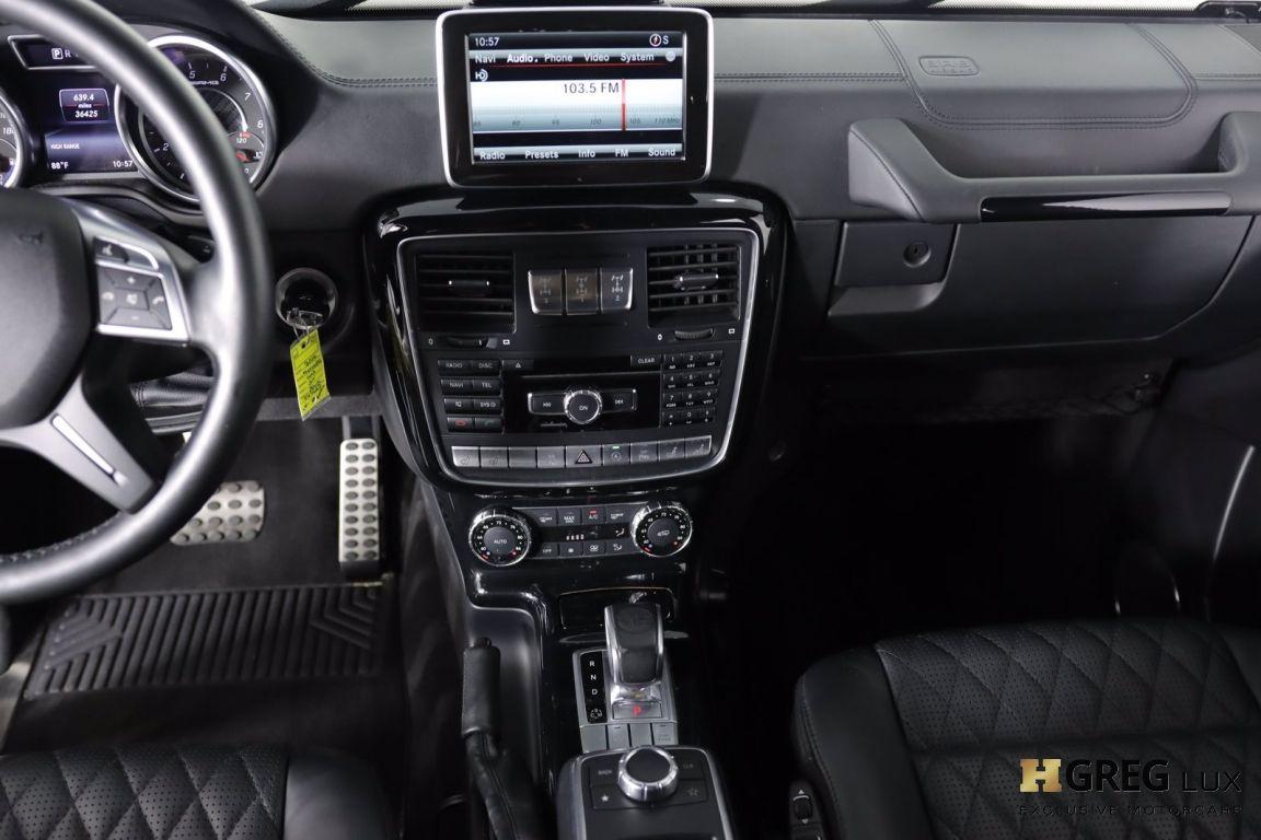 2016 Mercedes Benz G Class AMG G 63 #40