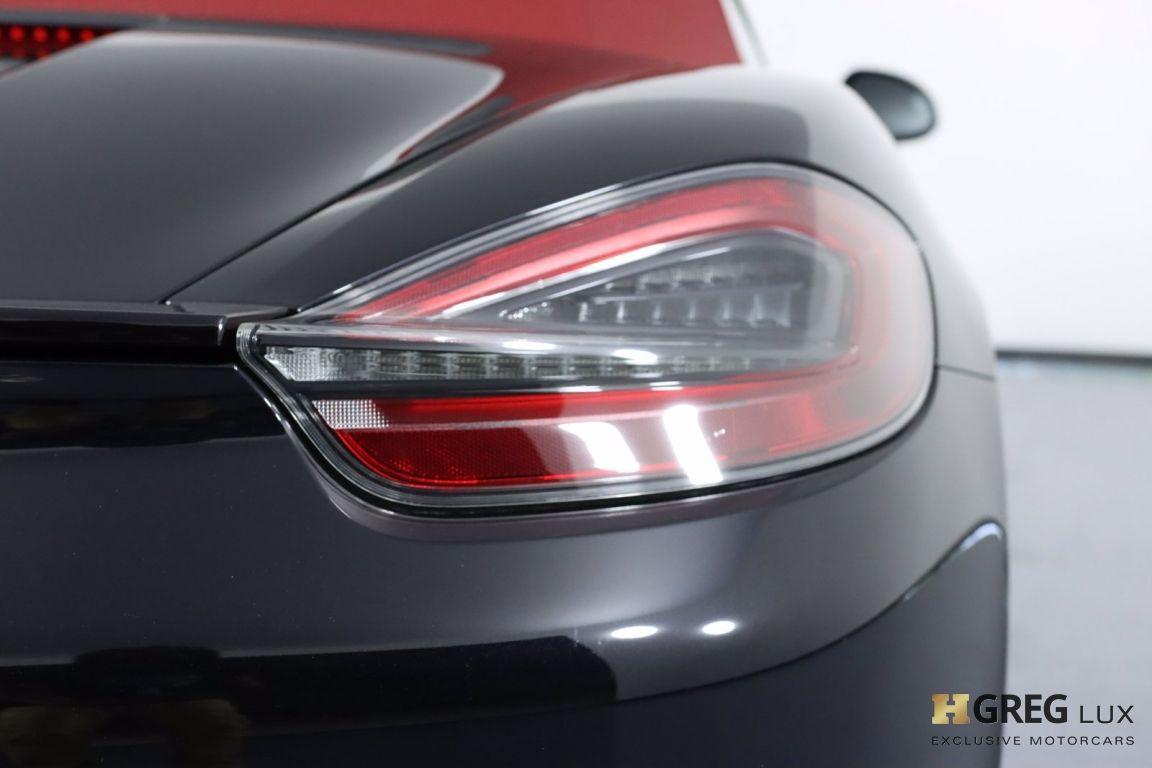 2016 Porsche Boxster GTS #13