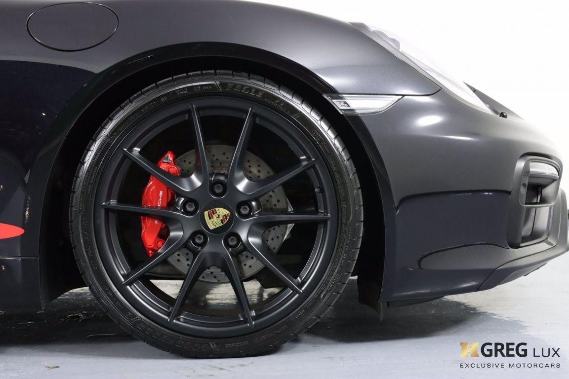 2016 Porsche Boxster GTS #10