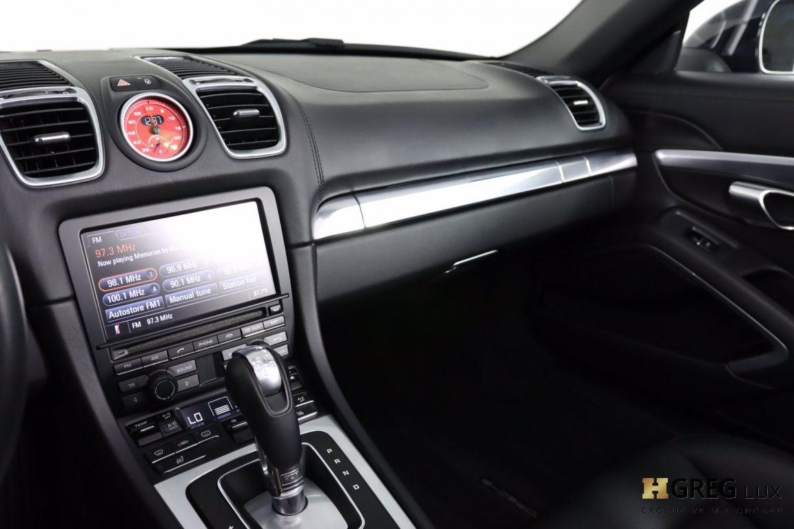 2016 Porsche Boxster GTS #34