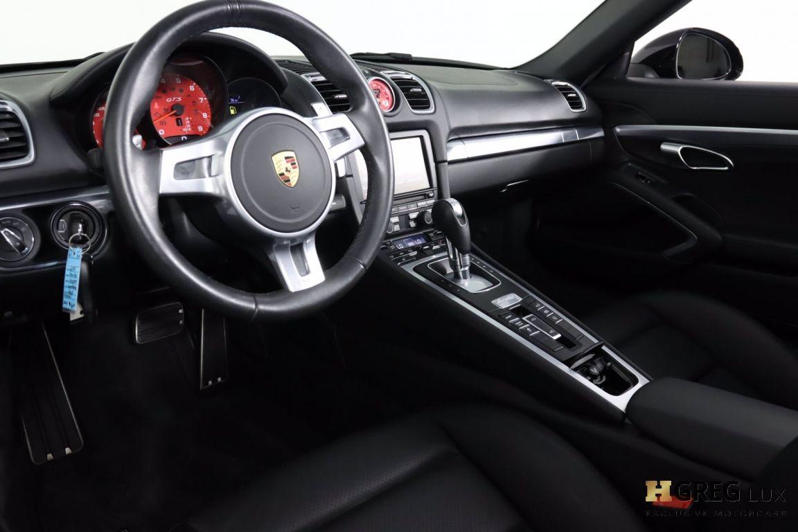 2016 Porsche Boxster GTS #43
