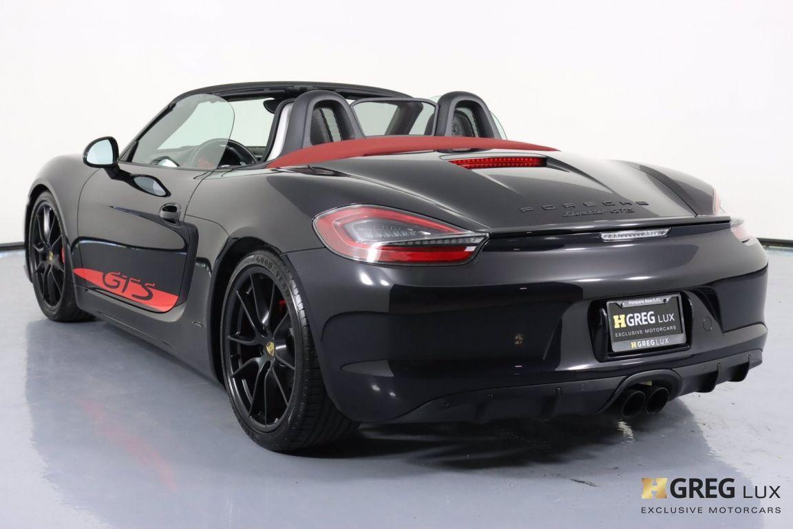 2016 Porsche Boxster GTS #19