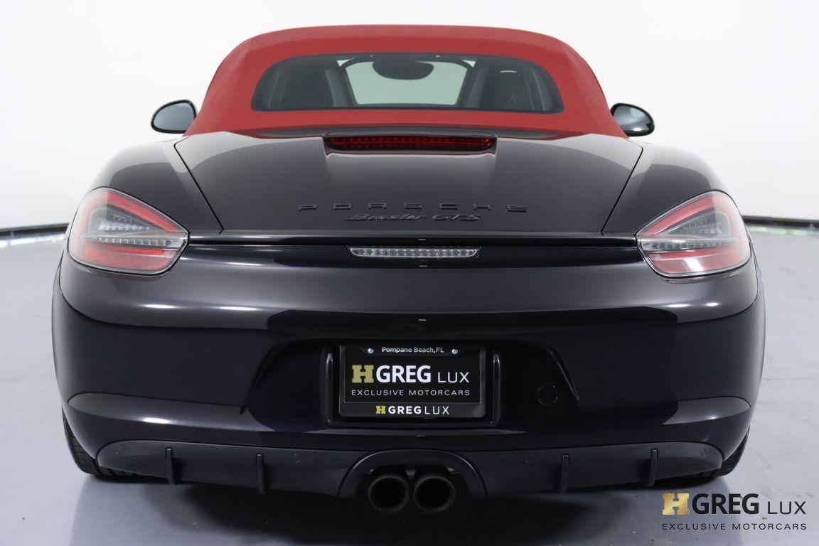 2016 Porsche Boxster GTS #11