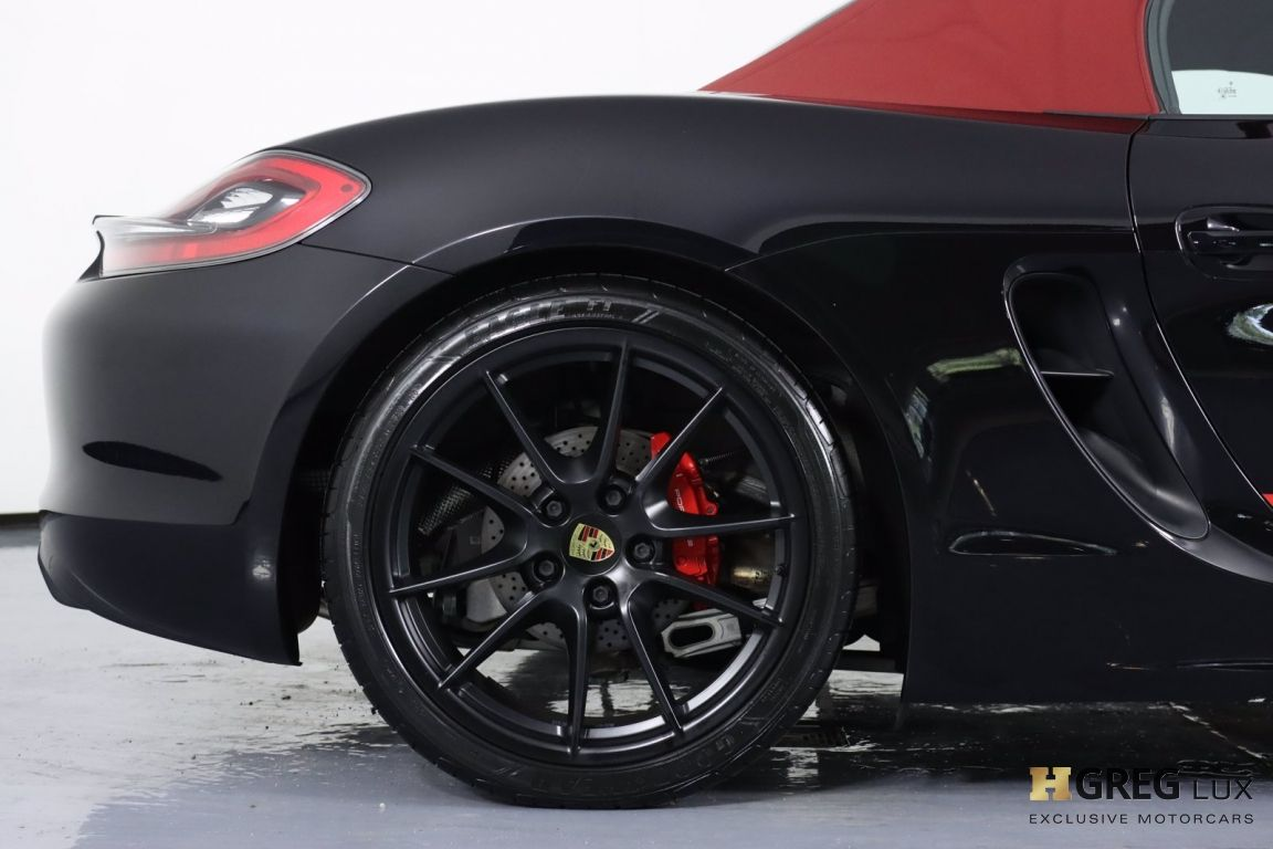 2016 Porsche Boxster GTS #6