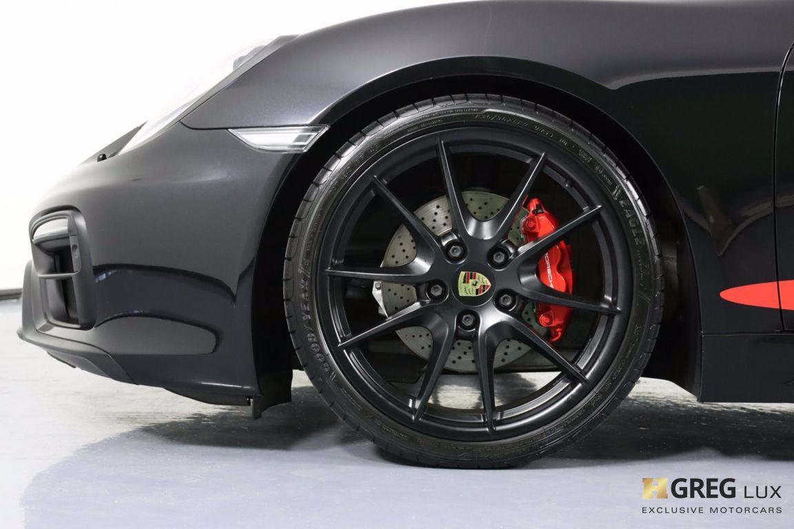 2016 Porsche Boxster GTS #24