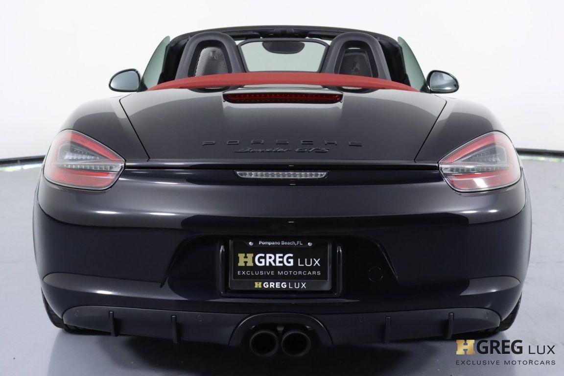 2016 Porsche Boxster GTS #18