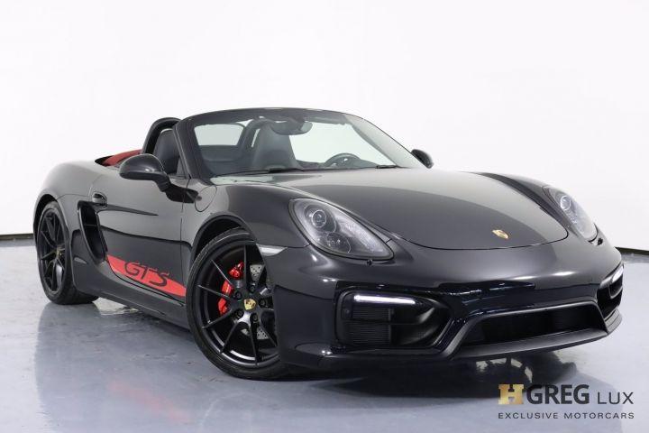 2016 Porsche Boxster GTS #0