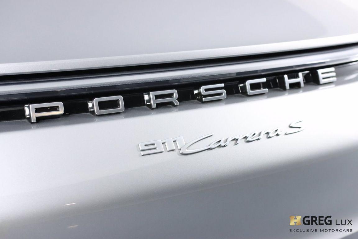 2021 Porsche 911 Carrera 4S #18