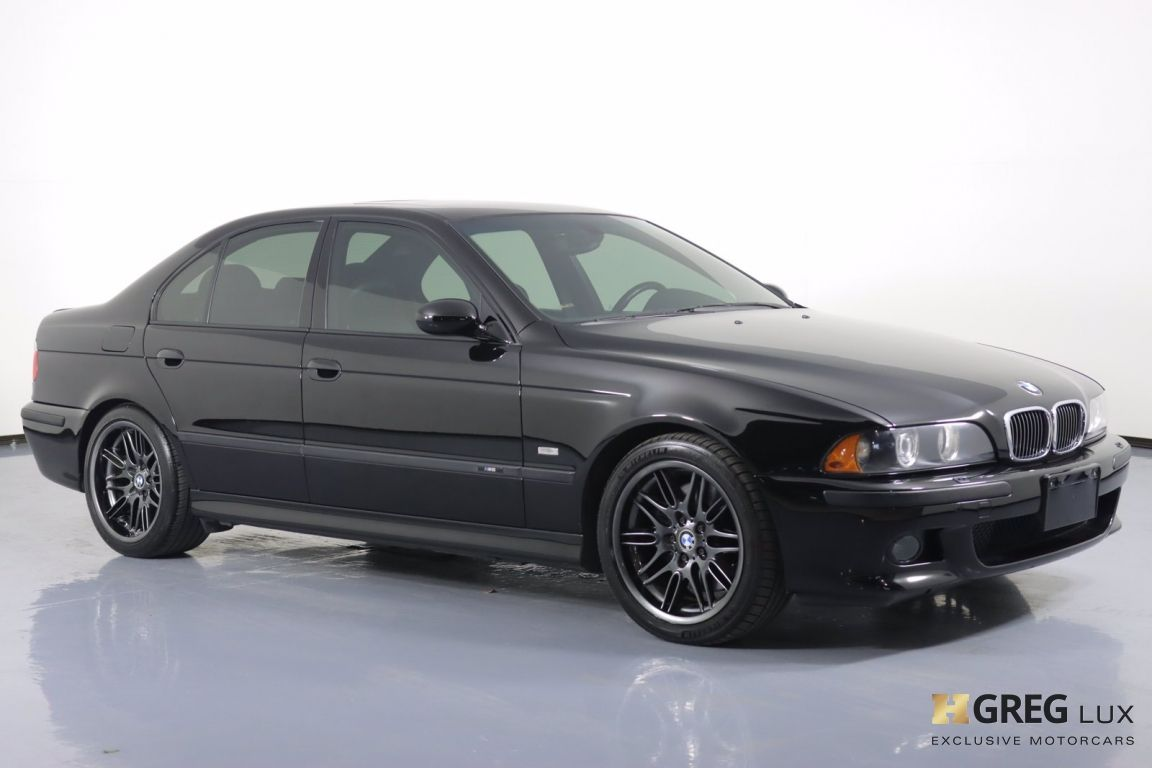 2002 BMW 5 Series M5 #9