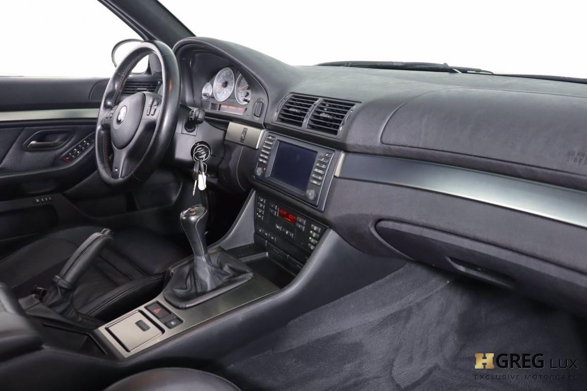 2002 BMW 5 Series M5 #46