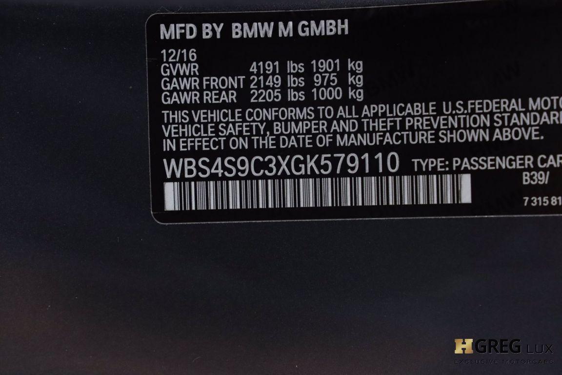 2016 BMW M4 GTS #56