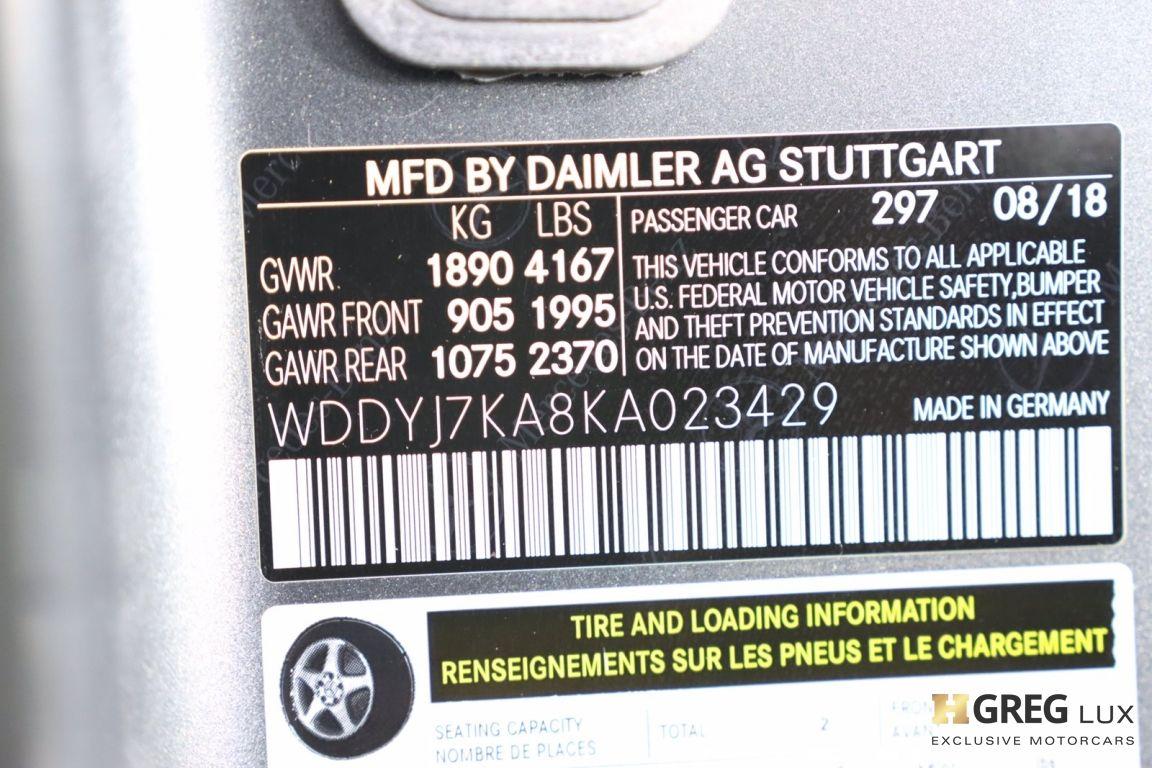 2019 Mercedes Benz AMG GT AMG GT R #51