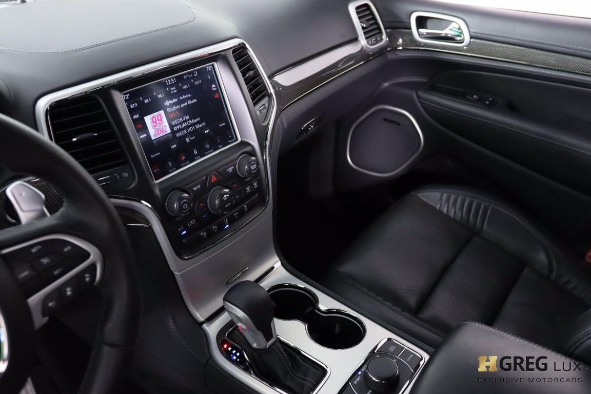 2018 Jeep Grand Cherokee Trackhawk #43