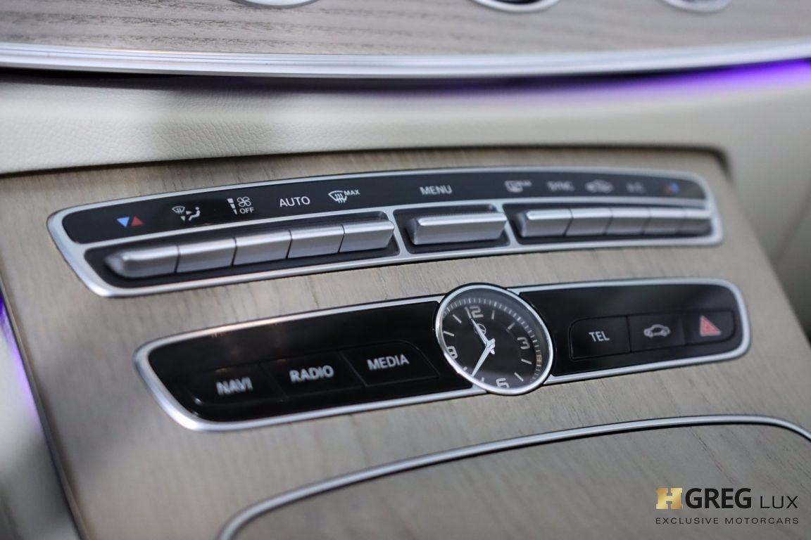 2018 Mercedes Benz E Class E 400 #39