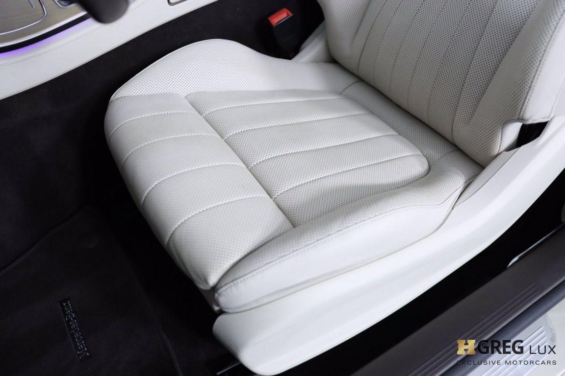 2018 Mercedes Benz E Class E 400 #31