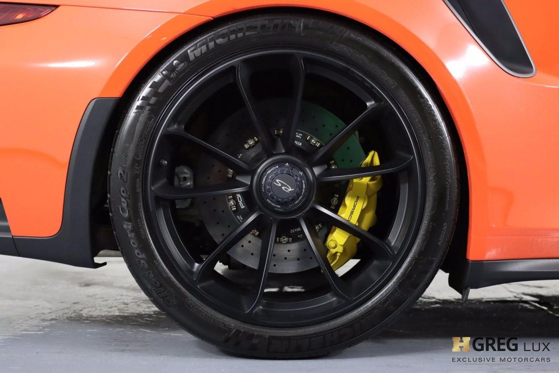 2016 Porsche 911 GT3 RS #16