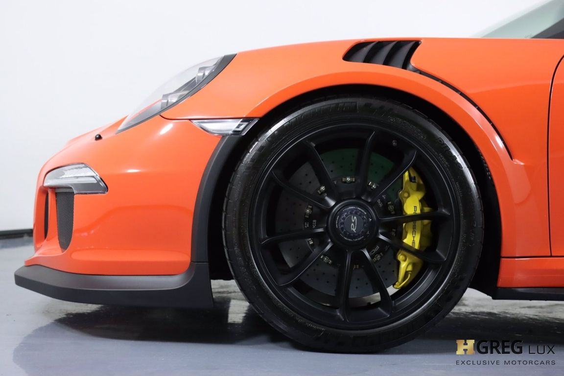 2016 Porsche 911 GT3 RS #26