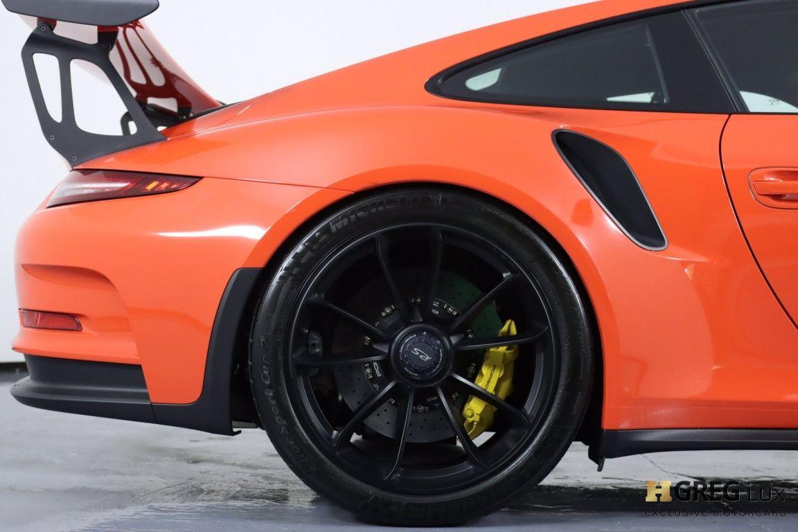 2016 Porsche 911 GT3 RS #15