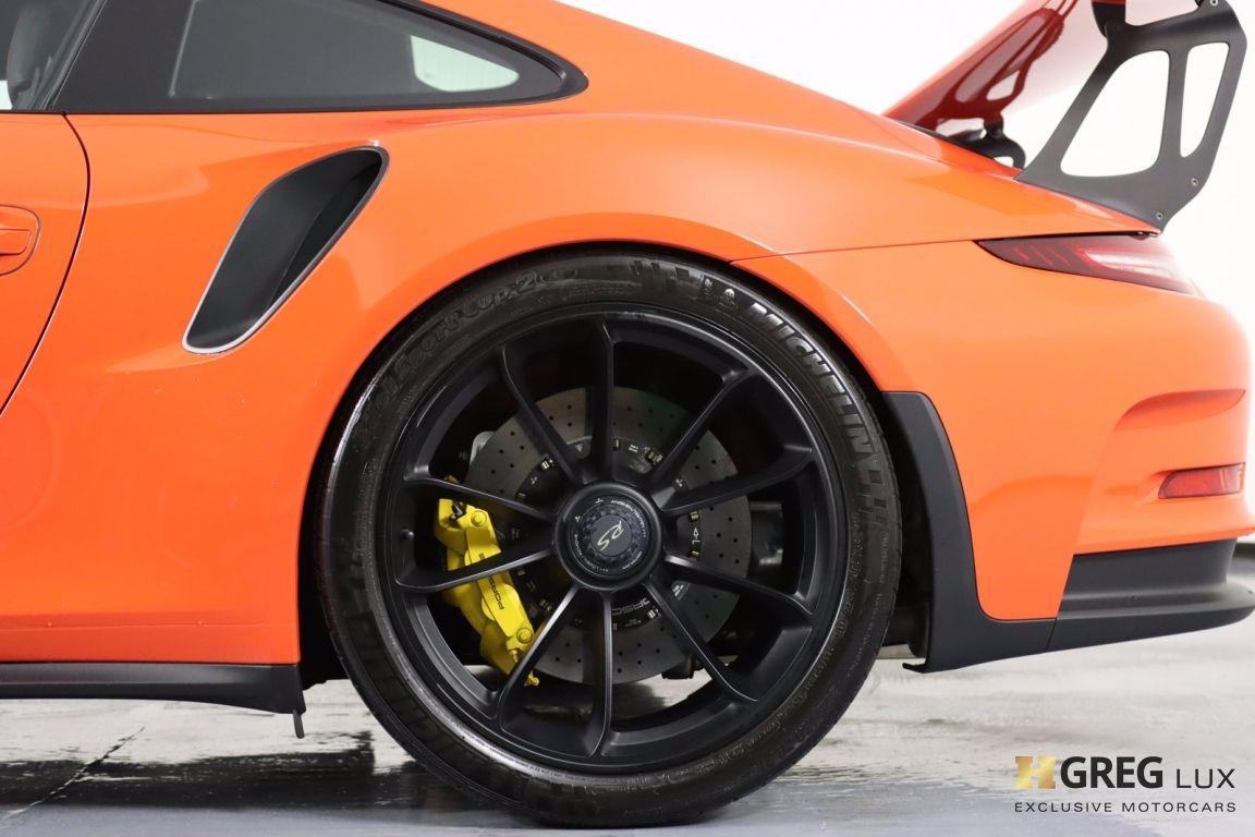 2016 Porsche 911 GT3 RS #29