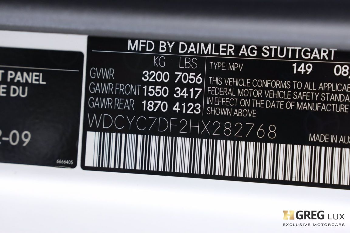 2017 Mercedes Benz G Class AMG G 63 #60