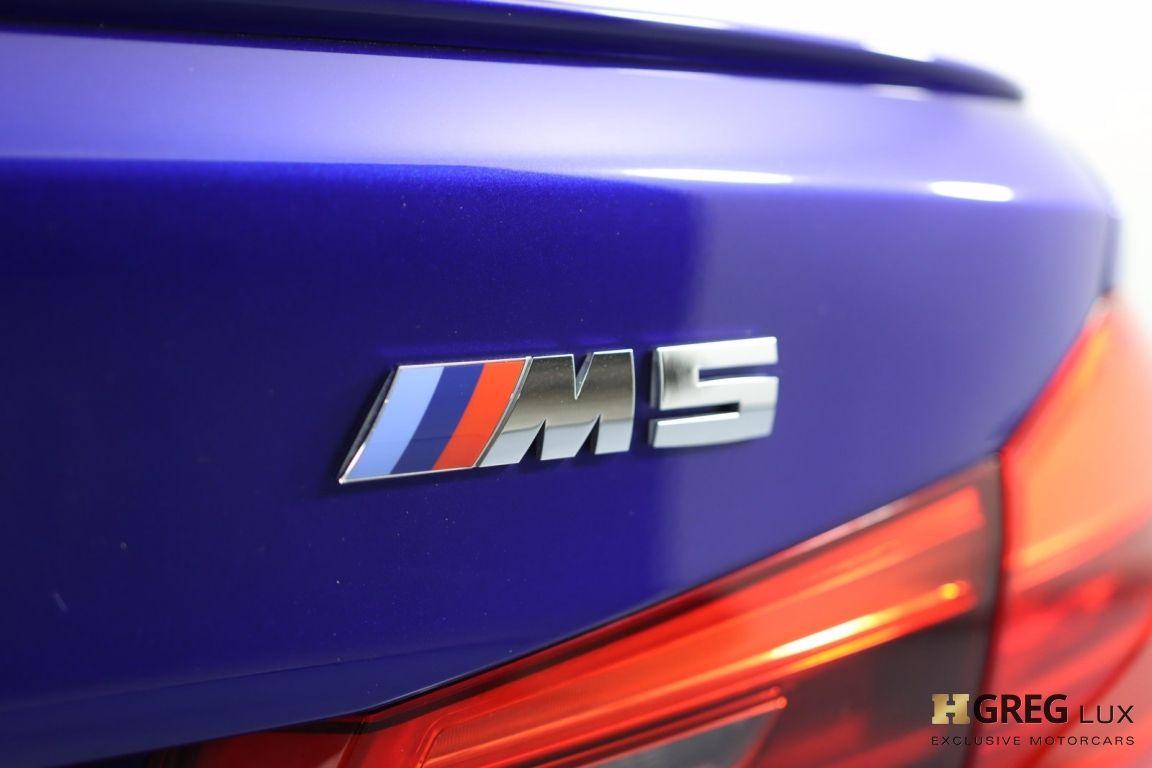 2018 BMW M5  #20