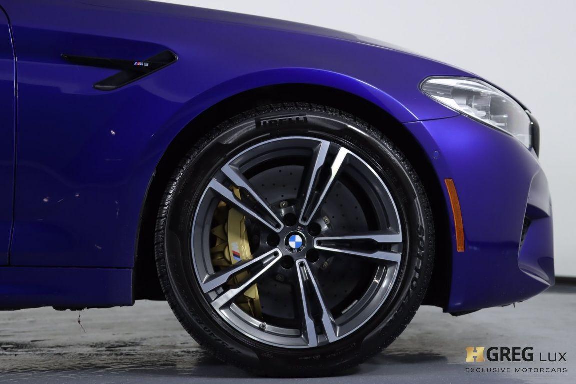 2018 BMW M5  #11