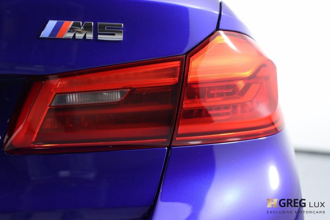 2018 BMW M5  #19