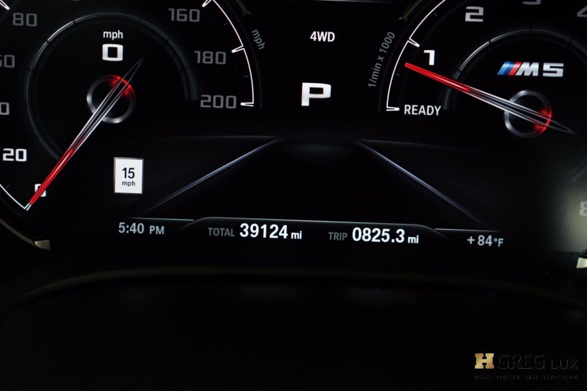 2018 BMW M5  #45