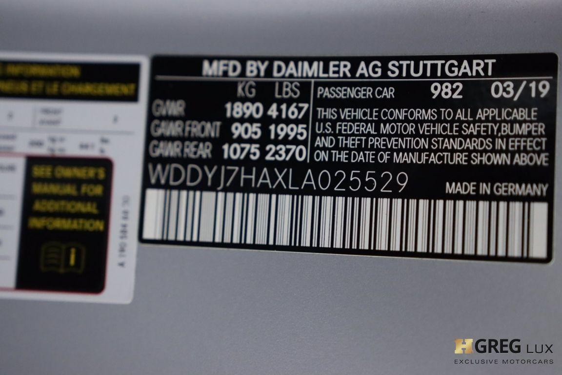 2020 Mercedes Benz AMG GT AMG GT #58