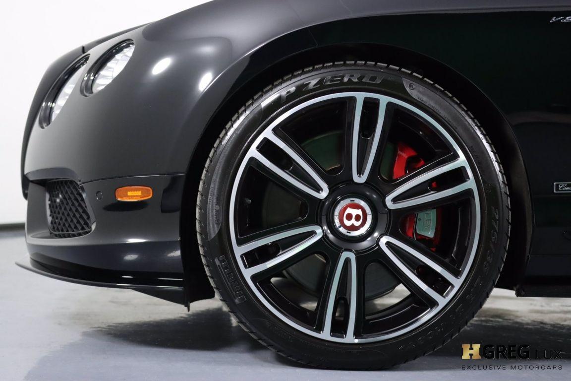 2015 Bentley Continental GT V8 S  #25