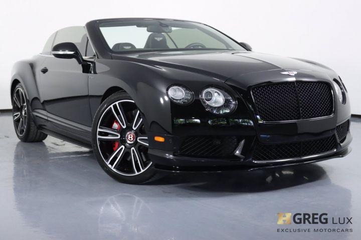2015 Bentley Continental GT V8 S V8 S #0