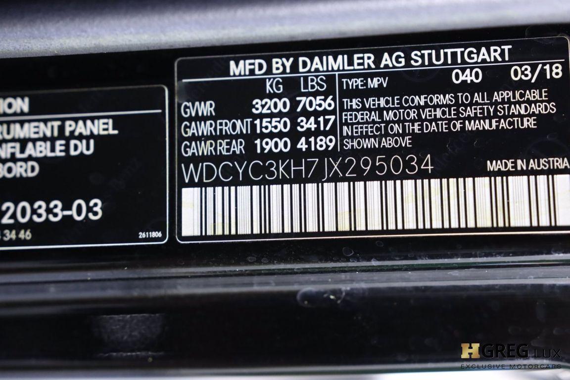 2018 Mercedes Benz G Class G 550 #49