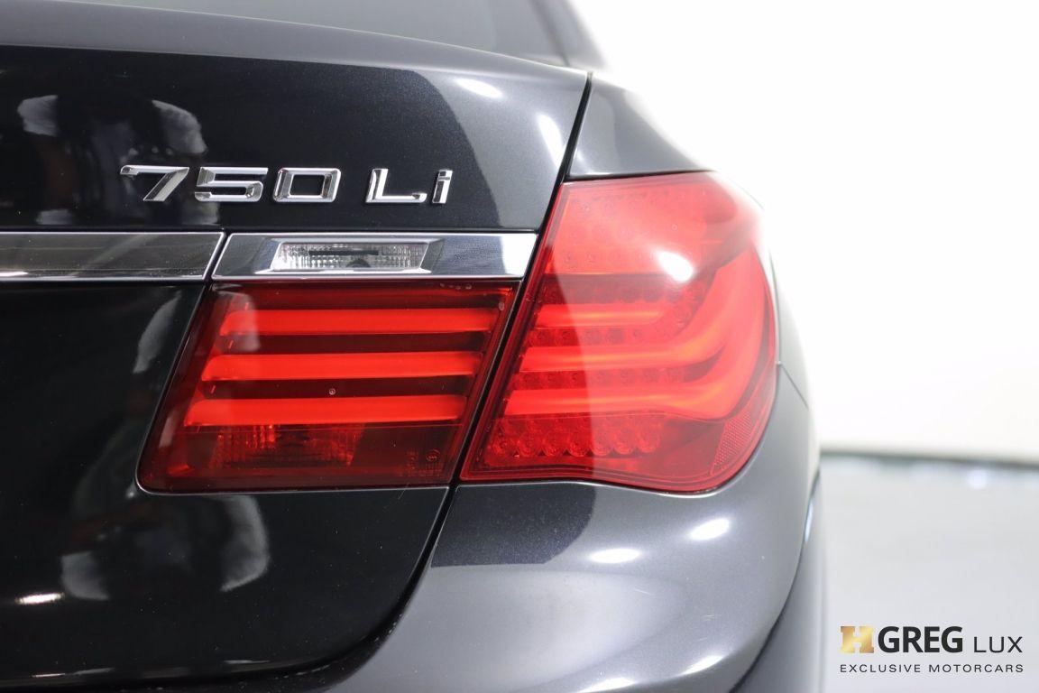 2015 BMW 7 Series 750Li #17