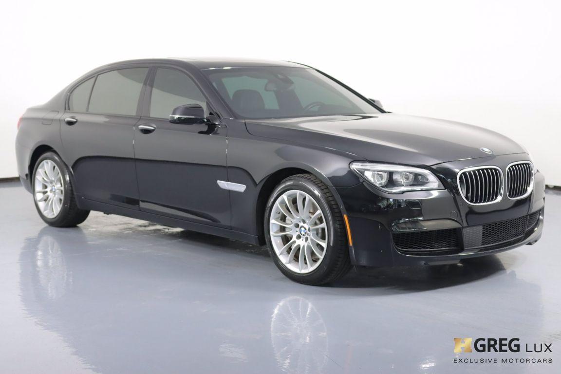 2015 BMW 7 Series 750Li #9