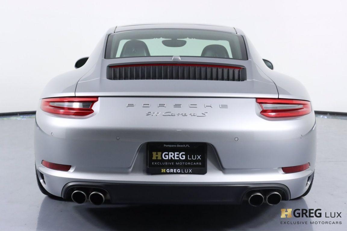 2017 Porsche 911 Carrera S #21
