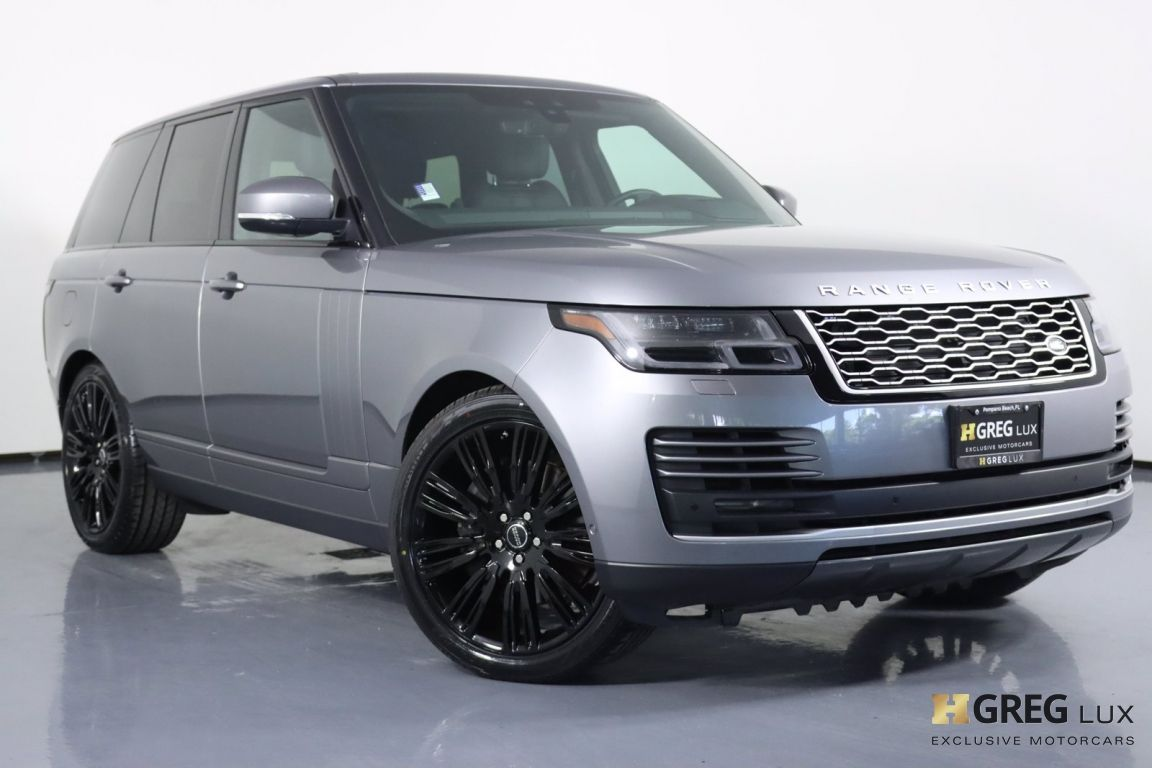 2020 Land Rover Range Rover HSE #0