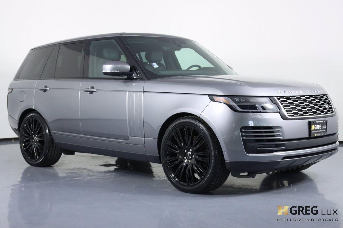 2020 Land Rover Range Rover HSE #9