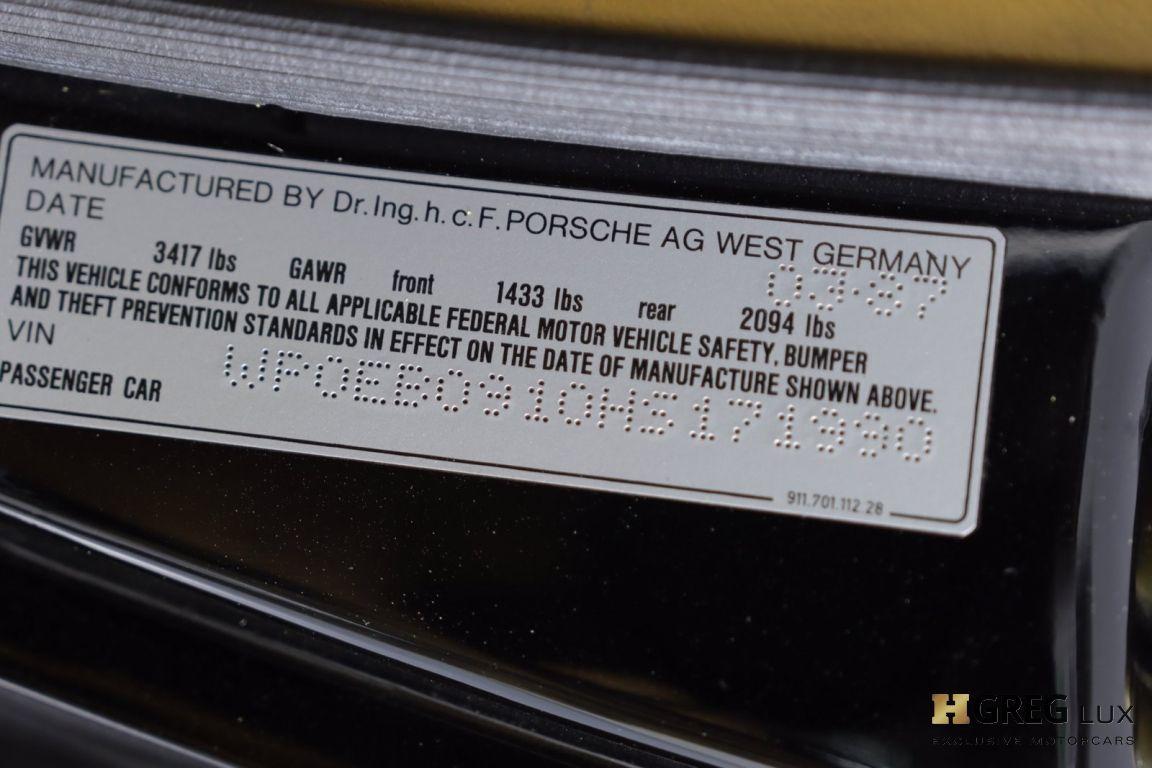 1987 Porsche 911 Carrera #44