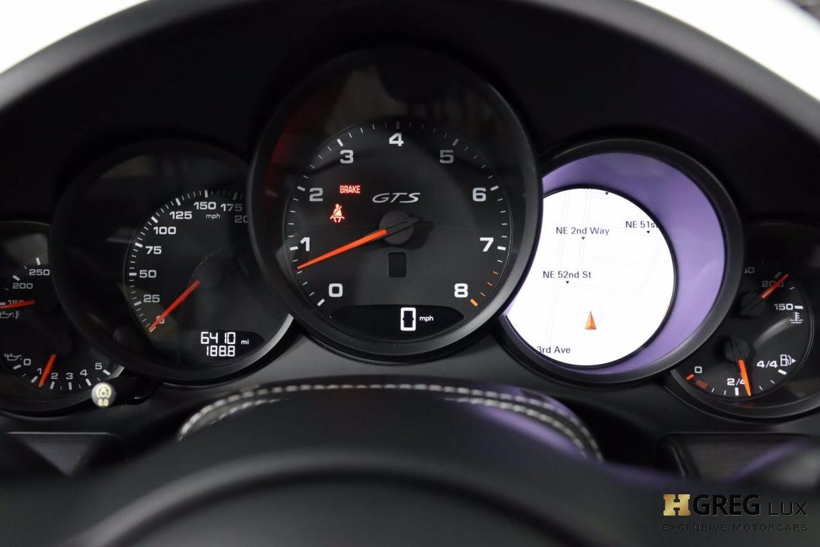 2019 Porsche 911 4 GTS #51