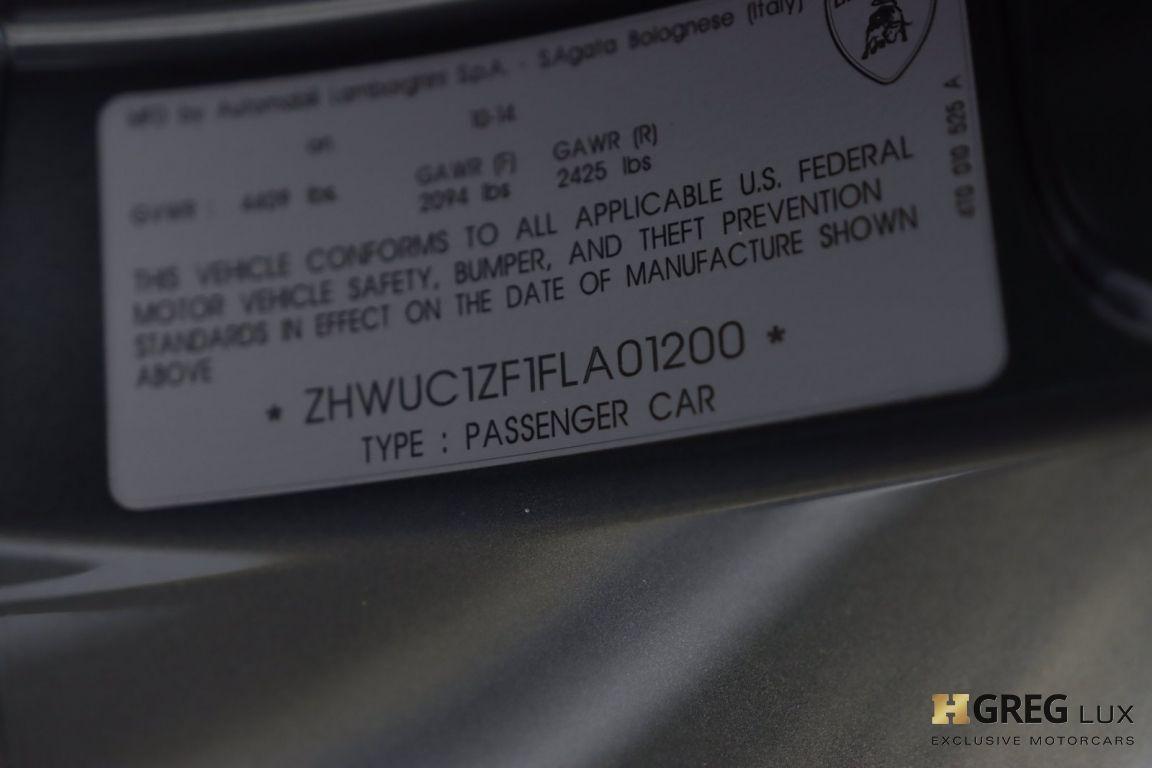2015 Lamborghini Huracan LP610-4 #50